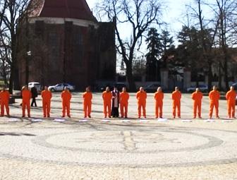 Inscenizacja egzekucji pod Trypolisem