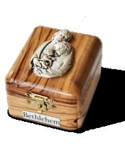Pudełko na różaniec ze Św. Rodziną