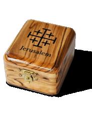 Pudełko z Krzyżem Jerozolimskim
