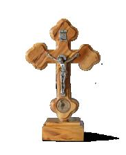 Krzyż mały stojący z ziemią
